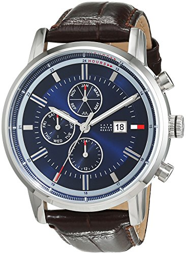 Tommy Hilfiger Cool Sport Analog Quarz Leder 1791244