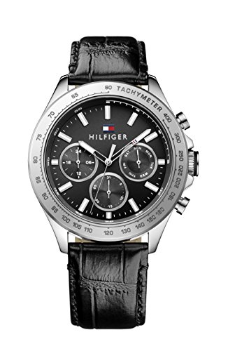 Tommy Hilfiger Herren Armbanduhr Sophisticated Sport Analog Quarz Leder 1791224