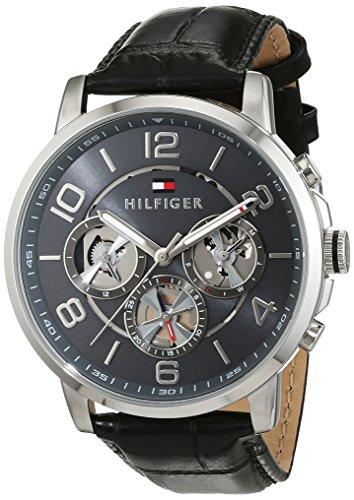 Tommy Hilfiger Herren Armbanduhr Sophisticated Sport Analog Quarz Leder 1791289
