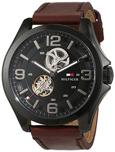 Tommy Hilfiger Herren Armbanduhr Sophisticated Sport Analog Automatik Leder 1791280