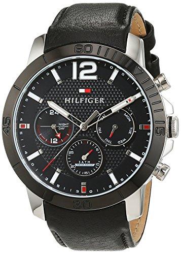 Tommy Hilfiger Herren Armbanduhr Sophisticated Sport Analog Quarz Leder 1791268