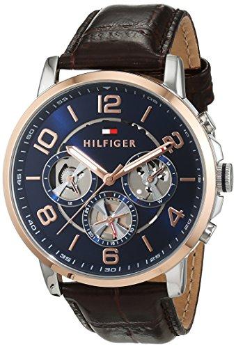 Tommy Hilfiger Herren Armbanduhr Sophisticated Sport Analog Quarz Leder 1791290