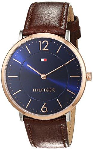 Tommy Hilfiger Herren Armbanduhr Sophisticated Sport Analog Quarz Leder 1710354