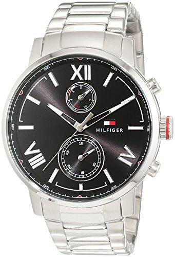 Tommy Hilfiger Herren Armbanduhr Sport Luxury Analog Quarz Edelstahl 1791307
