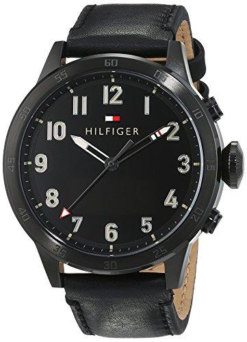 Tommy Hilfiger Herren Smartwatch Casual Sport Analog Digital Quarz Leder 1791296
