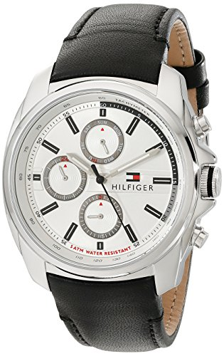 Tommy Hilfiger Herrenuhr Multifunktion Casual Sport Preston 1791080