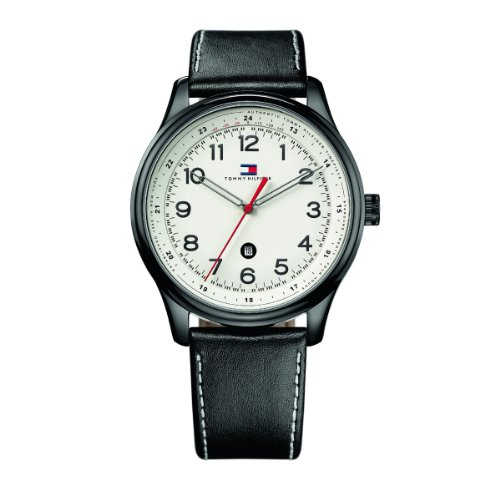 Tommy Hilfiger Watches XL Analog Leder 1710309