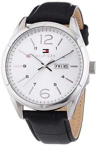 Tommy Hilfiger Watches XL CHARLIE Analog Quarz Leder 1791060