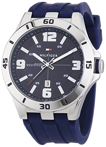 Tommy Hilfiger Watches XL DREW Analog Quarz Silikon 1791062