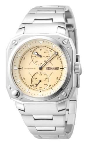 Chevignon Herren-Armbanduhr Analog Quarz Edelstahl 92-0008-503