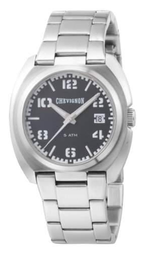 Chevignon Herren-Armbanduhr Analog Quarz Edelstahl 92-0010-501