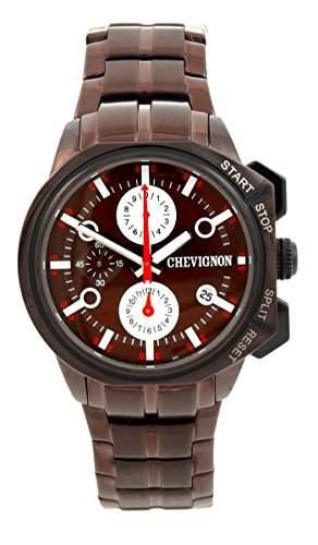 Chevignon Herren-Armbanduhr Analog Quarz Edelstahl 92-0054-501
