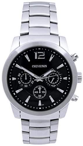Chevignon Herren-Armbanduhr Analog Quarz Edelstahl 92-0063-504