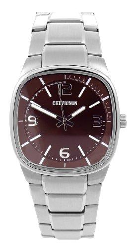 Chevignon Herren Armbanduhr Analog Quarz Edelstahl 92 0058 503