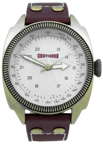 Chevignon Herren Armbanduhr Analog Quarz Leder 92 0001 502