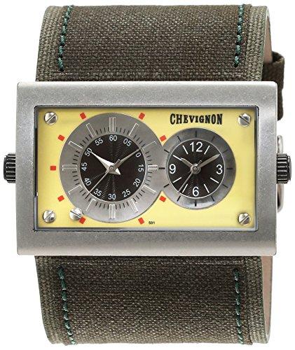 Chevignon Herren Armbanduhr Analog Quarz Leder 92 0019 501