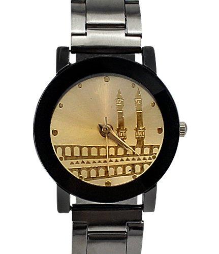 Armbanduhr Lasche und der hintere Teil aus Edelstahl Analog 2 Tuerme Design fuer Frauen