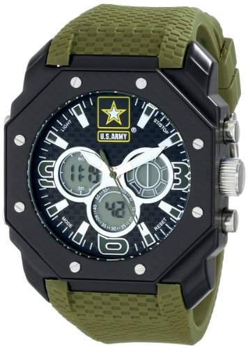 Wrist Armor Armbanduhr - Herren Military United States Army C28 Analog & Digital Chronograph