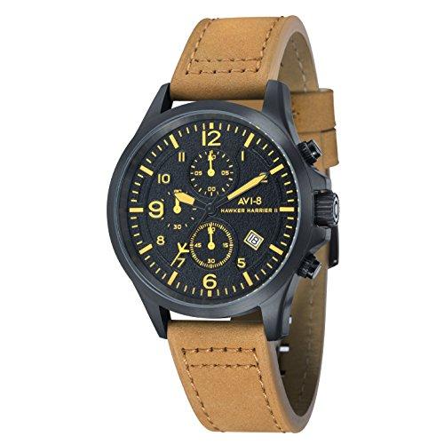 AVI 8 Herren Armbanduhr Flyboy Analog Quarz