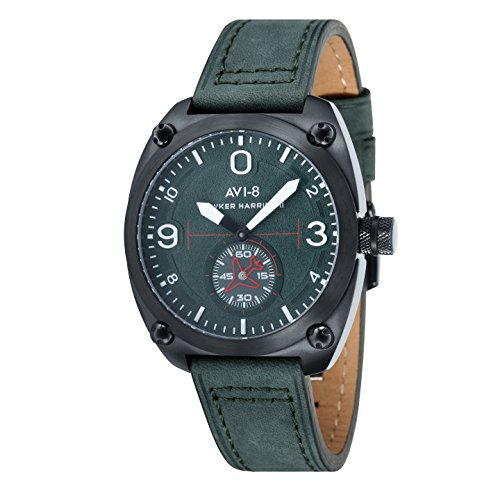 AVI 8 Herren Armbanduhr Hawker Harrier II Analog Quarz AV 4026 04