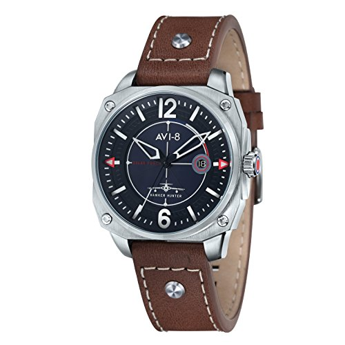 AVI 8 Herren Armbanduhr Hawker Hunter Analog Quarz AV 4039 01