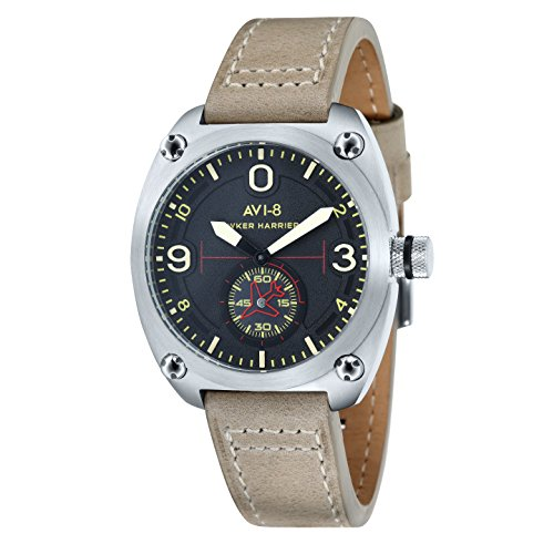AVI 8 Herren Armbanduhr Hawker Hunter Analog Quarz