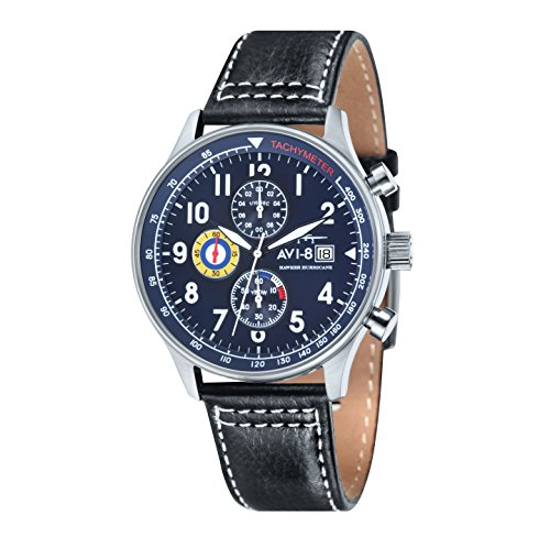 AVI 8 Hawker Hurricane Analog Quarz AV 4011 03