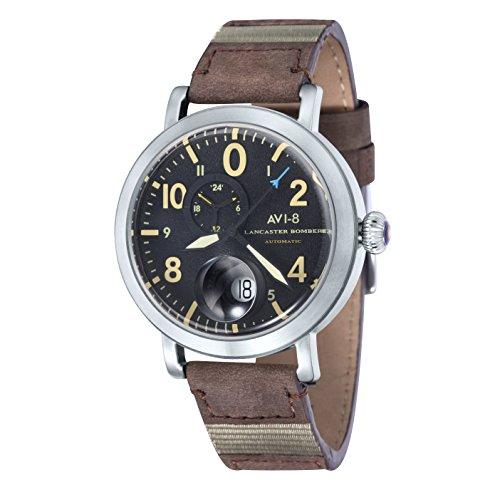 AVI 8 Herren Armbanduhr Hawker Hurricane Analog Automatik