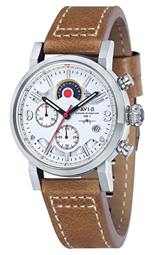 AVI 8 Hawker Hurricane Analog Quarz AV 4041 01