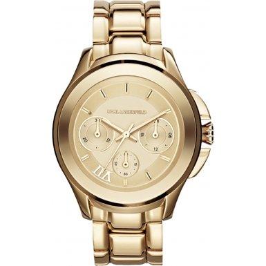 Karl Lagerfeld Damen Armbanduhr Analog Quarz Edelstahl KL2404