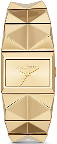 Karl Lagerfeld Damen Armbanduhr XS Analog Quarz Edelstahl KL2604