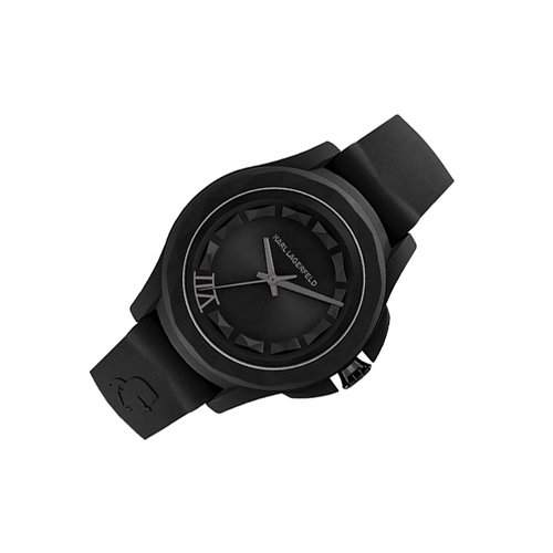 Karl Lagerfeld Unisex-Armbanduhr Analog Quarz Silikon KL1023