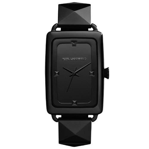 Karl Lagerfeld Damen-Armbanduhr Analog Quarz Edelstahl KL1801