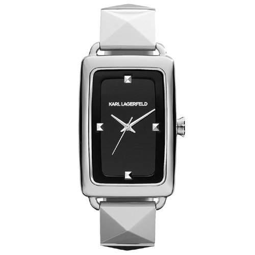 Karl Lagerfeld Maedchen-Armbanduhr Analog - Digital Quarz Edelstahl KL1803