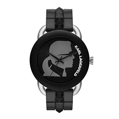 Karl Lagerfeld Unisex-Armbanduhr Analog Quarz Kautschuk KL2213