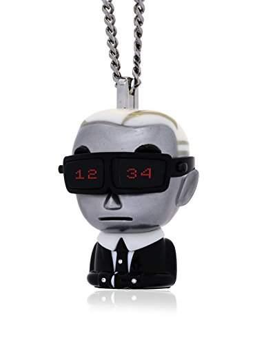 Karl Lagerfeld Damen-Armbanduhr Digital Quarz Edelstahl KL9001