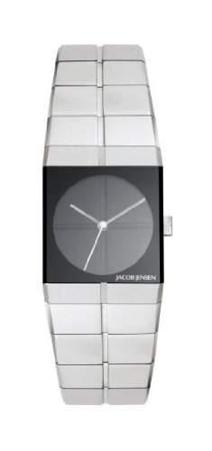 Jacob Jensen Damen-Armbanduhr Icon Series 220 Analog edelstahl Silber 220