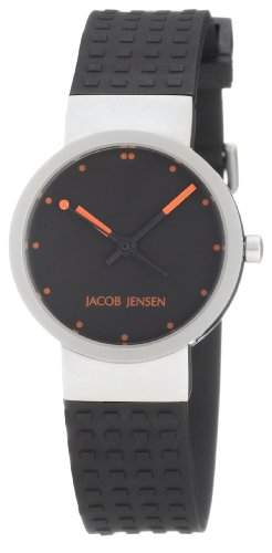 Jacob Jensen Damenarmbanduhren Clear Serie 420S