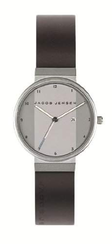 Jacob Jensen Herren-Armbanduhr New Series 731 Analog Gummi Schwarz 731