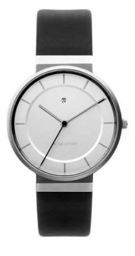 Jacob Jensen Herren-Armbanduhr Dimension Series 881 Analog leder schwarz 881