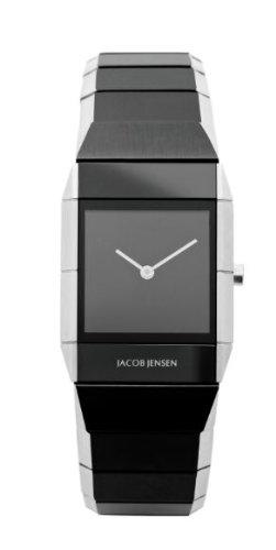 Jacob Jensen Damen Armbanduhr Sapphire Series 560 Analog edelstahl Mehrfarbig 560