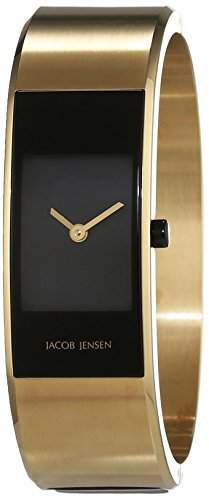 JACOB JENSEN Damen-Armbanduhr Analog Quarz Edelstahl ECLIPSE ITEM NO 444