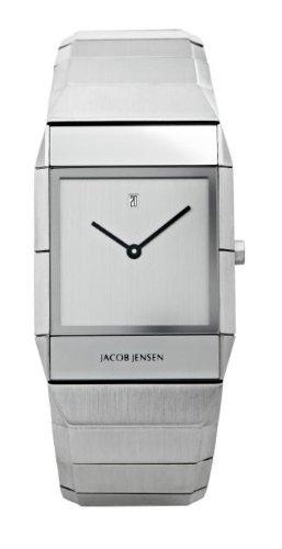 Jacob Jensen Herren Armbanduhr Sapphire Series 552 Analog edelstahl Silber 552
