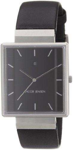 Jacob Jensen Herrenarmbanduhr Rectangular 32885