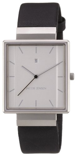 Jacob Jensen Herrenarmbanduhr Rectangular 32886