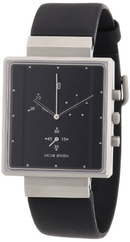 Jacob Jensen HerrenChronograph Rectangular 32805