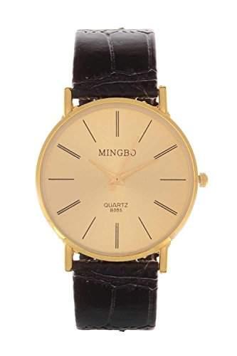 Damenuhr Gold Schlicht Mingbo Uhr Mingbouhr Bloggeruhr Blogger Designer
