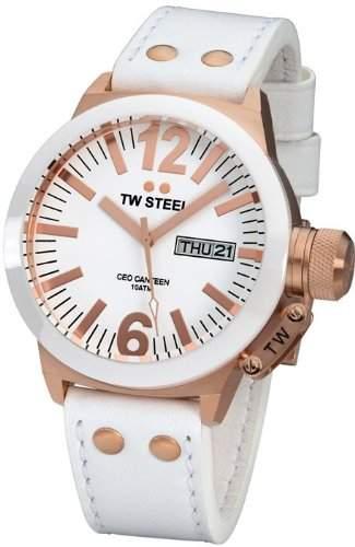 TW Steel CEO Canteen TWCE 1035 Armbanduhr fuer Sie Keramikluenette
