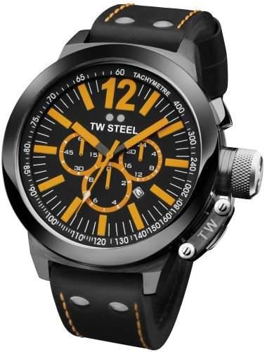 TW Steel CEO Canteen Chrono TWCE1030 Sportliche Herrenuhr XXL Uhr
