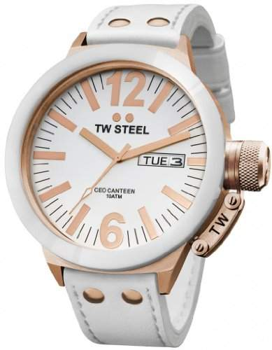 TW Steel Unisex-Armbanduhr CEO Canteen TWCE1036